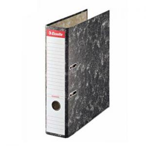 ESSELTE - Pasta Arquivo L75 Esselte 46960 A4 Marmore Preto