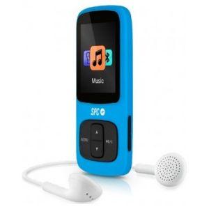 SPC - LEITOR MP4 SPC 8GB 1.8P AZUL - PURE SOUND COLOUR 8578A