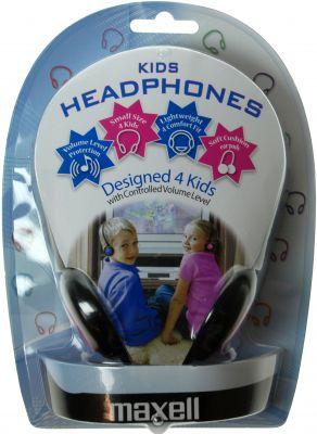 MAXELL - HEADPHONES - ARCO INFANTIL AZUL (BLUE KIDS HEADPHONES)
