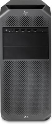 HP - Workstation Z6 G4 - Intel X4108, 512GB SSD, DVD+/-RW, 32GB DDR4, W10 P64 WKST