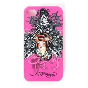 ED HARDY - Hard Shell Faceplace iPhone 4 Geisha