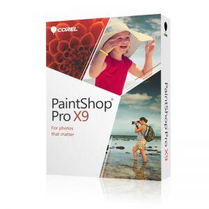 COREL - PaintShop Pro X9 Pacote de caixa 1 utilizador ( mini-box ) Win Multi-Lingual