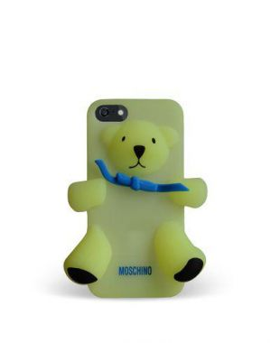 MOSCHINO - BEAR GENNARINO IPHONE 5/5S/SE (PHOSPH. YELLOW)