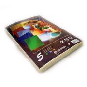 OFFICE - Cartolina Metalizada 235gr 50Folhas A4 (5 Cores) (37652)
