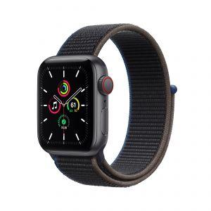 APPLE - Watch SE GPS + Cellular 40mm em Aluminio Cinzento Sideral com Bracelete Loop Desportiva Carvao
