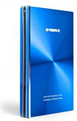 B-MOVE - CAIXA HD 2.5P. ATÉ 1 TB. USB 2.0. ALUMINIO. AZUL (BM-HDB02T)