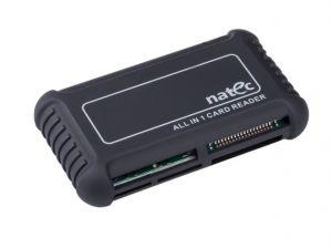 NATEC GENESIS - LEITOR DE CARTÕES ALL IN ONE BEETLE SDHC USB 2.0