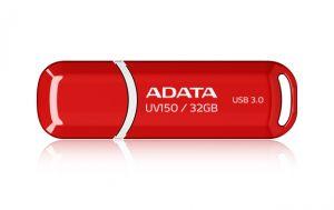 ADATA - DashDrive UV150 Drive flash USB 32 GB USB 3.0 vermelho - AUV150-32G-RRD