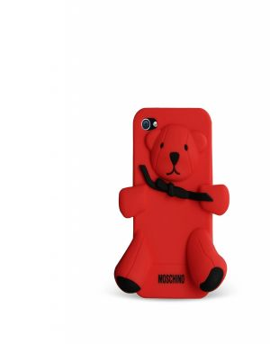 MOSCHINO - Bear Gennarino iPhone 4 / 4S (red)