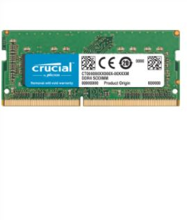 CRUCIAL - DDR4 16GB 2400MT/sCL17 DRx8 unbuf SODIMM 260pin/Mac
