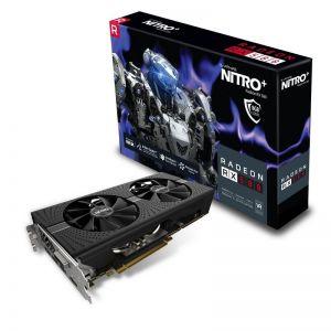 SAPPHIRE - RADEON RX 580 8GB GDDR5 NITRO+ CTLR PCI-E 2XHDMI DVI-D 2XDP W/BP