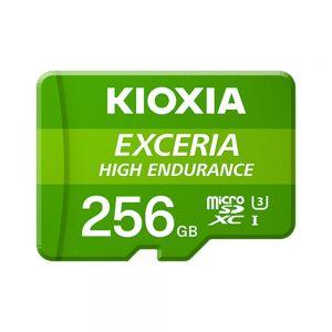 KIOXIA - MICRO SD 256GB EXCERIA HIGH ENDURANCE UHS-I C10 R98 COM ADAPTADOR