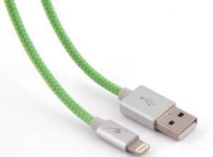 BLUESTORK - TRENDY-LI-F 1.2M USB A LIGHTNING VERDE Cabo USB - TRENDY-LI-F