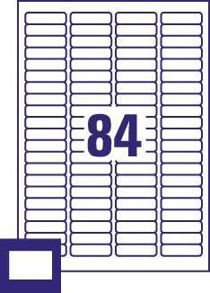 AVERY - MULTIMEDIA L7656 (ETIQUETAS DIAPOSITIVOS)