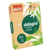 ADAGIO - Papel Fotocopia Adagio(cd60) A4 80gr (Damasco Intenso) 1x500Fls