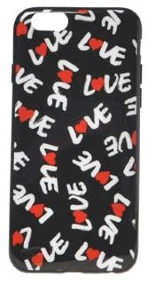 MOSCHINO - Soft Case iPhone 6 / 6S (love)