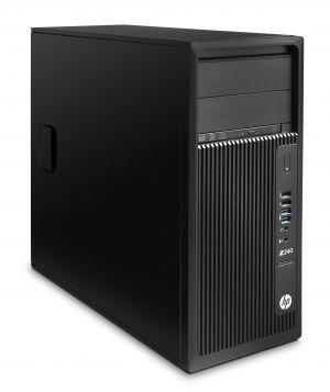 HP - Workstation HP Z240 i7-6700K 8GB 1TB 7200 rpm Gravador DVD W10 Pro 64