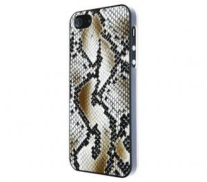 VCUBED3 - Eco-Leather iPhone 5 (dark snake)