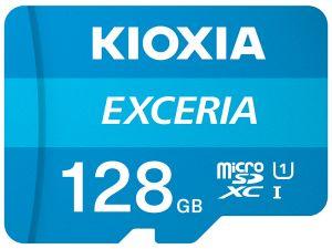 KIOXIA - MICRO SD 128GB EXCERIA UHS-I C10 R100 COM ADAPTADOR