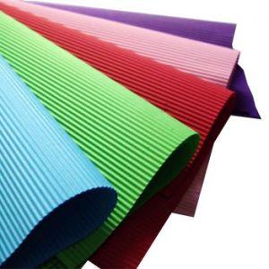 SADIPAL - Folha Cartao Canelado Colorido 50x70cm Vermelho (min. 5 un.)