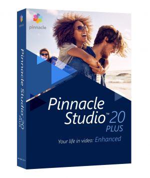 COREL - Pinnacle Studio Plus ( versão 20 ) pacote de caixa 1 utilizador Win Multi-Lingual Europa