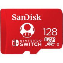 SANDISK - Cartão de memória flash - 128 GB - UHS-I U3 - microSDXC UHS-I - para Nintendo Switch