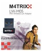 MATRIXX - P.Rede Wireless USB Mini LW-M05