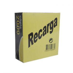 OFFICE - Bloco Papel Recarga 103x103x43mm Memo Cubos Branco