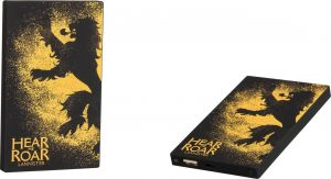 TRIBE - DECK POWER BANK 4000 MAH GAME OF THR. (LANNISTER)