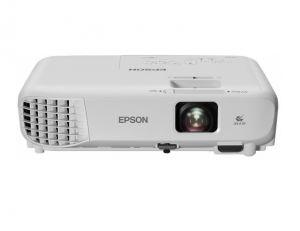 EPSON - EB-X05 - 3.300 lumen- 2.050 lumen (economia), resolução: XGA, 1024 x 768, 4:4, Contrast Ratio: 15.000 : 1, Tecnologia 3LCD, Obturador de cristais líquidos RGB, Distância focal: 16,9 mm - 20,28 mm, Entrada VGA, Entrada HDMI