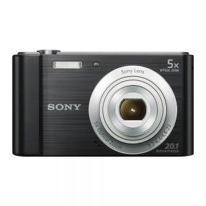 SONY - Cyber-shot W800 Preta - Sensor CCD 20.1 MP: ecrã 2.7P