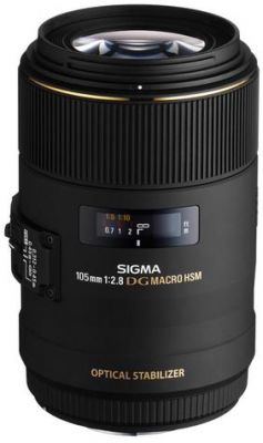 SIGMA - Objectiva - 105mm f:2.8 EX DG MACRO OS HSM-Canon