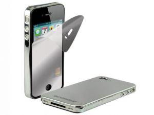 SCOSCHE - Metallikase G4 Low-Profile Polycarbonate f/iPhone 4 - IP4MCV
