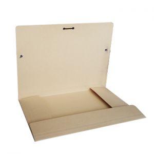 CARTONEX - Pasta Cartolina 350gr 310x230 Abas / Elast Beje (min. 5 un.)