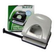 LEITZ - Furador Leitz 5008 2.5mm c / Regua 25 Folhas Cinza