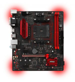 MSI - MB B350M GAMING PRO AMD AM4 B350
