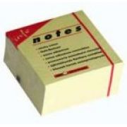GLOBALNOTES - Bloco (Cubo) Adesivo Amarelo 75x75mm 400Folhas