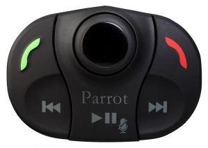 PARROT - Mki 9000 V.3.0 - Sistema mãos livres Bluetooth com conetividade para música digital que se integra na perfeição em qualquer veículo. Um comando que se pode colocar no volante ou no painel e que permite o condutor navegar por todas as funções do M