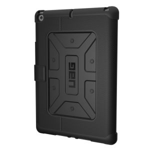 UAG - iPad 2017 Folio Case-Black/Black-Visual Packaging - IPD17-E-BK