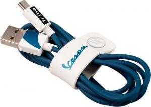 TRIBE - CABO VESPA USB-MICROUSB (BIANCOSPINO)