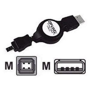 KEYSPAN - RETRACTABLE CABLE USB A-B