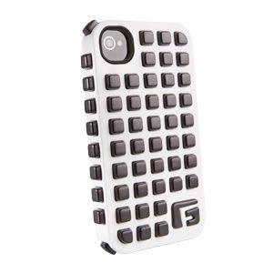 G-FORM - iPhone Square - White Shell / Black RPT - CP2IP4012E