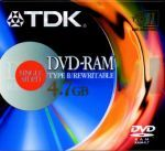 TDK - Dvd-Ram TDK Regravavel 5.2GB