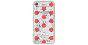 ADIDAS - SEETHROUGH IPHONE 8/7/6S/6 OSAKA (RED DOTS)
