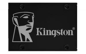 KINGSTON - Disco SSD 256Gb SATA3 KC600 KIT 550R/500W 90/80K IOPs