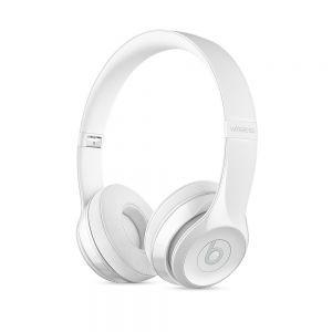APPLE - Beats Solo3 Wireless On-Ear Headphones - Gloss White