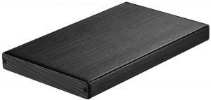 TOOQ - Caixa EXTERNA TQE-2527B 25P 95 MM SATA USB 3.0 NEGRA