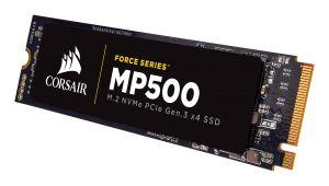CORSAIR - SSD Force MP500 series NVMe PCIe M.2 240GB Up to 3 000MB/s Sequential Read Up to 2 400MB/s Sequential Write Up to 250K IOPS Random Read Up to 210K IOPS Random Write.