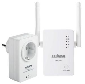 EDIMAX - 500Mbps Nano powrline adapter+WIFI Kit (HP-5101AC + HP-5101WN)