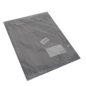 OFFICE - Pasta Plastico Riscas c/Bolsa e Visor A4 Branco -1un 24PL